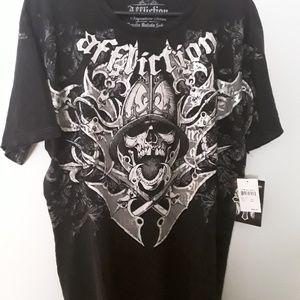 Affliction Mens Tshirt XL